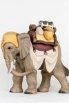 Elefant mit Sattel Nr. 36 + 38